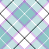 Soft warm plaid baby color seamless pattern diagonal texture Royalty Free Stock Photo