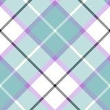Soft warm plaid baby color seamless pattern diagonal texture. Vector illustration. Flat design. EPS10 vector illustration
