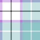 Soft warm plaid baby color seamless pattern fabric texture Stock Photo