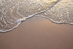 Soft wave of the sea Stock Image