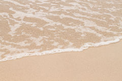 Soft wave of sea Royalty Free Stock Image