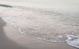 Soft wave of the sea Stock Photo