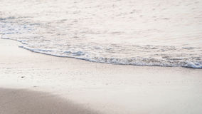 Soft wave of the sea Stock Photography