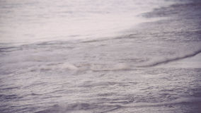 Soft wave of the sea Stock Photos