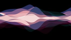 Soft waving abstract color painting gentle flow animation background new quality dynamic art motion colorful cool nice. Beautiful video footage a stock video footage