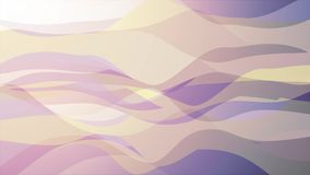 Soft waving abstract color painting gentle flow animation background new quality dynamic art motion colorful cool nice. Beautiful video footage a stock video