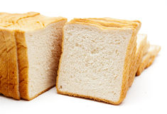 Soft white bread Stock Photos