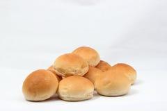 Soft white bread roll Stock Image