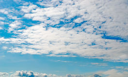 Soft white clouds Royalty Free Stock Photo