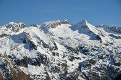 Soft winter in the Atlantic Pyrenees Royalty Free Stock Image