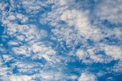 Soft wispy cirrus clouds Royalty Free Stock Images
