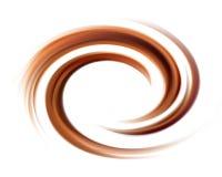 Vector background of swirling creamy chocolate texture. Soft wonderful mixed dark beige curvy eddy ripple luxury fond. Beautiful yummy volute fluid melt sweet royalty free illustration