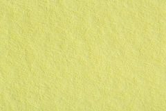 Soft yellow paper texture. Royalty Free Stock Photography
