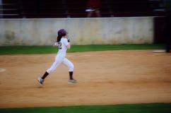 softball φορέων έφηβος Στοκ εικόνα με δικαίωμα ελεύθερης χρήσης