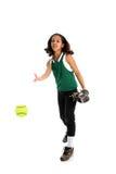 softball φορέων Στοκ Εικόνες