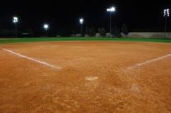 Softball πεδίο Στοκ φωτογραφία με δικαίωμα ελεύθερης χρήσης