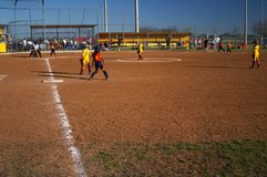 Softball Foto de Stock Royalty Free