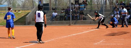 softball Royaltyfri Foto
