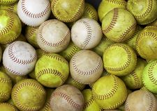 softball Royaltyfria Bilder