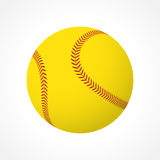 Softball ball Royalty Free Stock Images