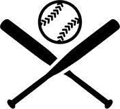 Softball. Bats vector sports icon vector illustration