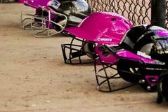 Softball de las muchachas Imagenes de archivo