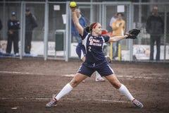 Softball 2014 del campeonato del mundo Imagen de archivo libre de regalías