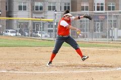 Softball del NCAA delle donne Immagini Stock Libere da Diritti