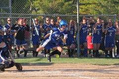 Softball delle ragazze Fotografie Stock Libere da Diritti