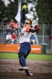 Softball 2014 di campionato del mondo Fotografia Stock