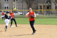 Softball do NCAA das mulheres Fotografia de Stock