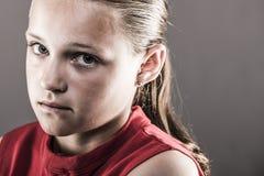 Softball dziewczyna Obrazy Royalty Free