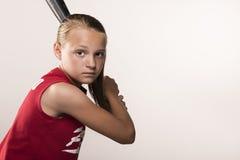 Softball dziewczyna Obraz Stock