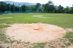 Softball field Stock Image