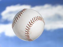 Softball. Flying thru the sky Stock Images