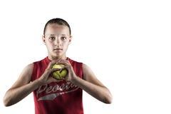 Softball Girl Royalty Free Stock Photo