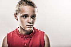 Softball Girl Royalty Free Stock Images