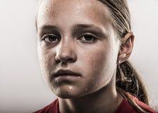 Softball Girl Stock Image