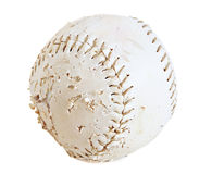 Softball isolated Royalty Free Stock Image