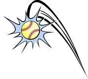 Softball Out of the Park Royalty Free Stock Photo