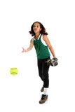 Softball Player Stock Photo