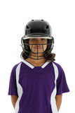 Softball Player Royalty Free Stock Photo