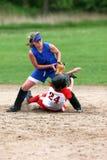 Softball-Spieler Stockbilder
