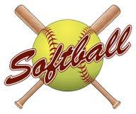Softball Team Design Fotografía de archivo