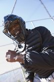 Softball umpire, portrait Royalty Free Stock Photos