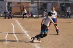 Softballi gracze obrazy royalty free