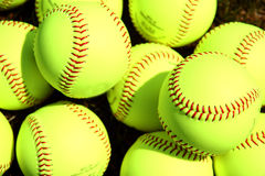 Softballs Royalty Free Stock Photos