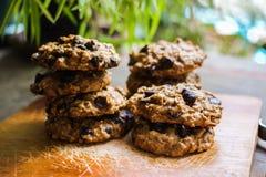 Softbatch choklad Chip Cookies Arkivfoton
