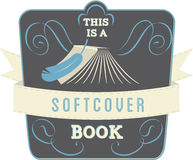 Softcover Book Royalty Free Stock Photos
