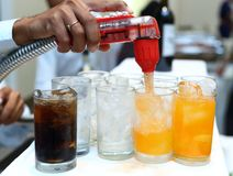 Softdrink dispensor Royalty Free Stock Photo
